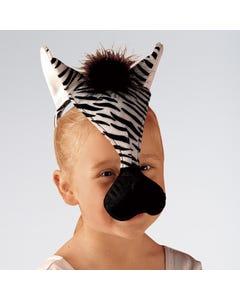 Zebra Mask With Sound