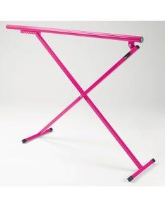 1st Position Portable Ballet Barre Fuchsia Pink
