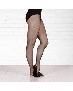 Plume Footed Fishnet Tights