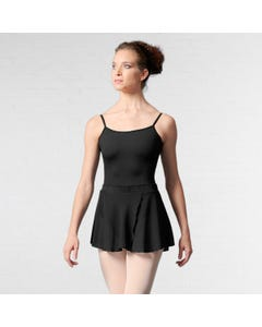 Mirella Velvet Waistband Fixed Wrap Skirt