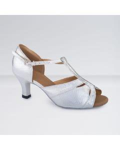 1st Position T-Bar Open Toe PU Ballroom Shoes