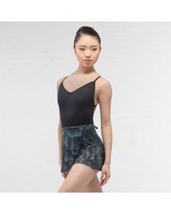 Ballet Rosa Printed Mesh Wrap Skirt