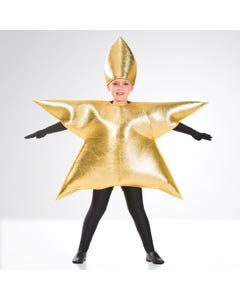 Gold Star Costume Child One Size