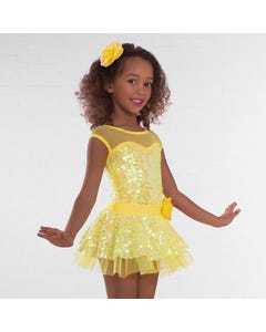 1st Position Sequin Glitz Dress