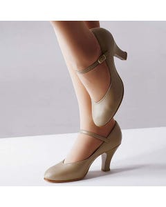 Capezio Professional Theatrical Shoes (Tan)