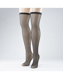 Black Fishnet Hold-Ups (Pair)