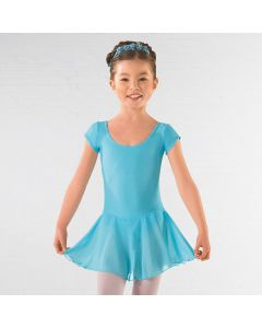 ISTD Ballet Pre Primary, Primary -Grade 1 Voile Skirted Cap Sleeve Leotard