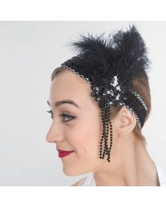 Deluxe Flapper Sequin Headband