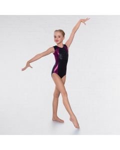 1st Position Selena Diamante Sleeveless Leotard