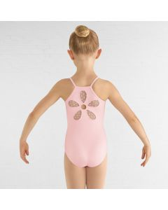 Bloch Begonia Heart Mesh Flower Cami Leotard