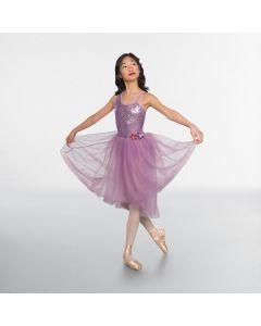 1st Position Sequin Bodice Dipped Hem Ballet Dress