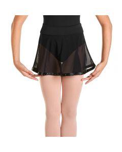 Bloch Mesh Circular Skirt
