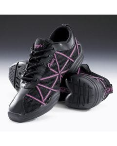 Capezio Hot Pink Web Dance Sneakers