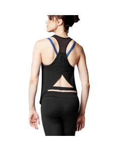 Bloch Mesh Racer Back Overlap Tank Top