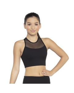 Revolution Linear Mesh Bra Top