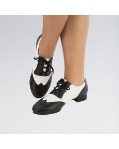 So Danca PU Upper Rubber Sole Low Heeled Character Shoes