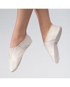 Split Sole Leather Gymnastic Shoe