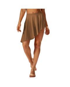 Mirella Asymmetric Hem Skirt