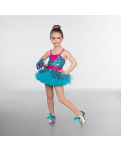 1st Position Multi Mini Sequin Tutu