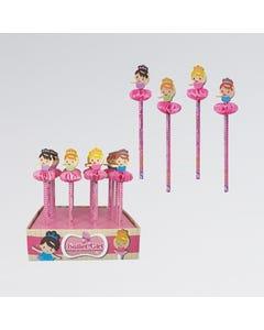 Ballerina Pencil 16 pieces with display