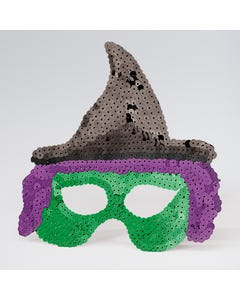 Sequin Witch Mask